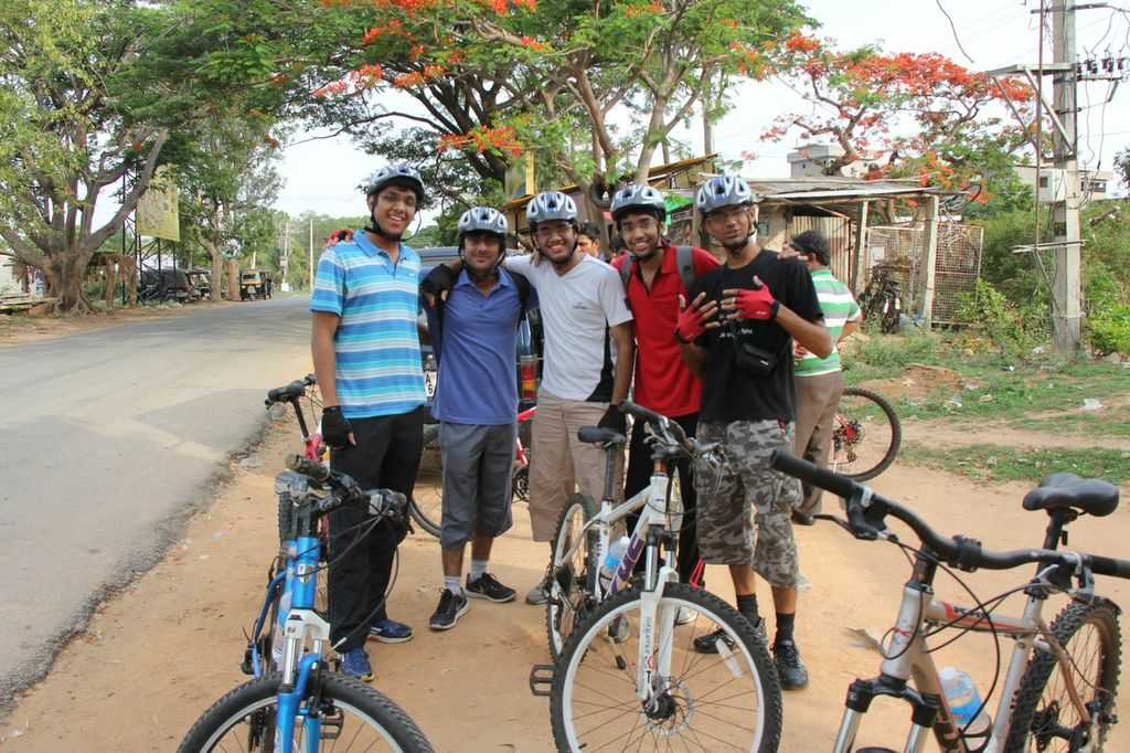 Cycling at Nandi Hills, Karnataka: Nandi Hills route