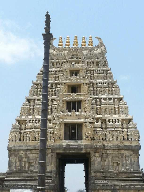 Chennakeshava temple entrance at Belur