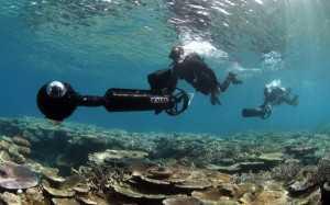 Google Street View Scuba divers