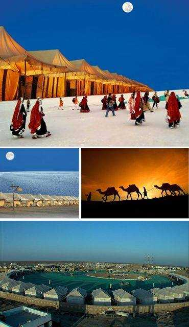 Kutch, surreal white desert