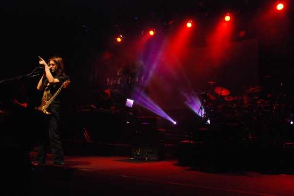 Porcupine Tree performing in Mood Indigo 2009, Mumbai , Maharashtra: IIT Bombay music festival